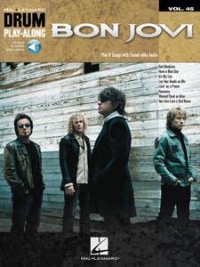 Drum Play-Along Volume 45 - Bon Jovi