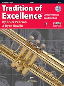 Tradition of Excellence Book 1 Book / DVD / (KJOS)