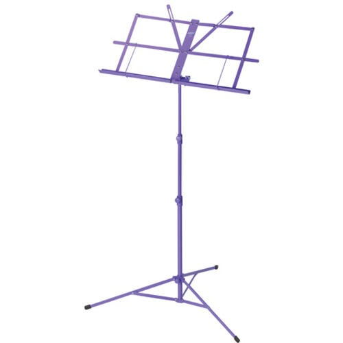 Armour lightweight foldable music stand with bag - Purple (MS3127P)