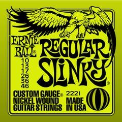 Ernie Ball Regular Slinky Electric Guitar String Set  10-46 (2221)