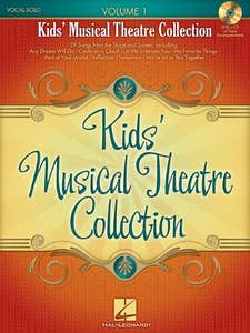 Kids Musical Theatre Collection Volume 1 Book and CD (Hal Leonard)