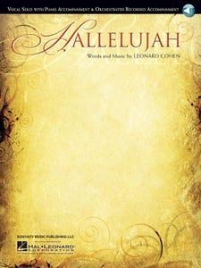Hallelujah - PVG Single Sheet with Downloadable Accompaniment / Leonard Cohen (Hal Leonard)