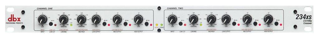 DBX 234XS Stereo 2/3 Way   Mono 4-Way Crossover w/XLR Connectors