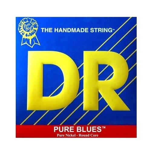 DR Strings 'Pure Blues' Pure Nickel Guitar Strings - 10-46