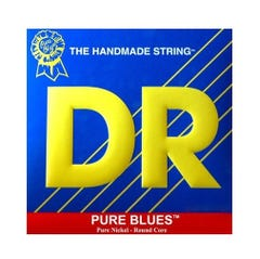 DR 'Pure Blues' Pure Nickel Guitar Strings - 12-52
