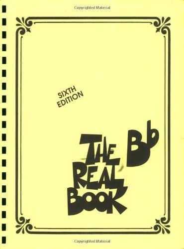 Real Book B Flat Instrument (HAL LEONARD)
