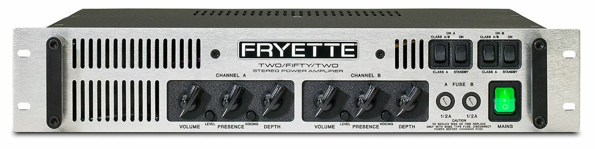 Fryette Amplification Two/Fifty/Two Master-Built 50w Stereo Power Amplifier