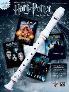 Harry Potter Selections From Recorder Book (Alfred)