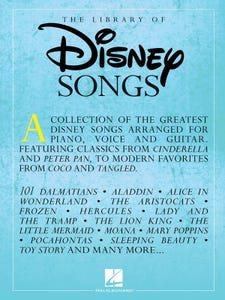 The Library of Disney Songs PVG / (Hal Leonard)