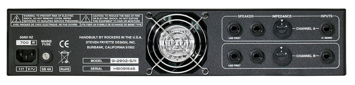 Fryette Amplification Two/Ninety/Two Master-Built 90w Stereo Power Amplifier