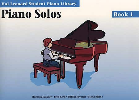 hlspl piano solos BK 1 /  (HAL LEONARD)