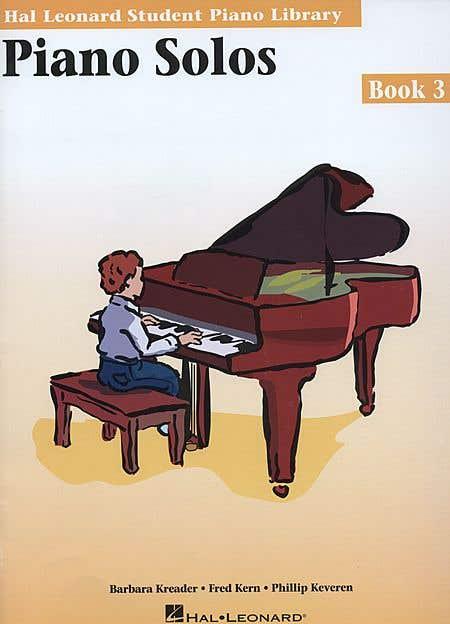 hlspl piano solos BK 3 /  (HAL LEONARD)