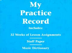 hlspl my practice record /  (HAL LEONARD)