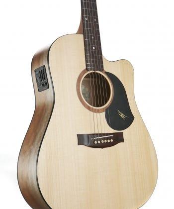 Maton SRS60C Road Series Acoustic Electric Guitar w/Case - Natural Satin