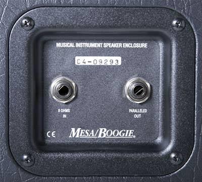 Mesa Boogie 2x12 Rectifier Horizontal Guitar Cabinet