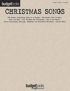Budget Books Christmas Songs PVG /  (HAL LEONARD)
