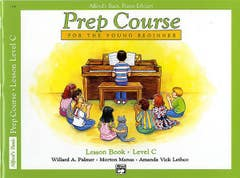 Alfred's Basic Piano Library Prep Course Lesson Level C (Alfred)