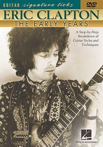 eric clapton early years sig licks DVD / CLAPTON ERIC (HAL LEONARD)