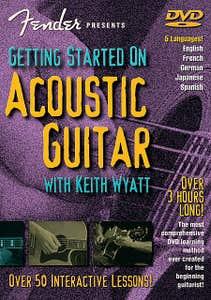 getting started on acoustic guitar DVD /  (HAL LEONARD)