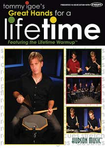 great hands for a lifetime DVD / IGOE TOMMY (HUDSON MUSIC)