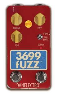 Danelectro 3699 Octave Fuzz Pedal