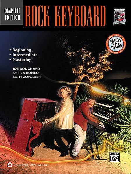 Rock Keyboard Complete BK/CD / BOUCHARD JOE (ALFRED)