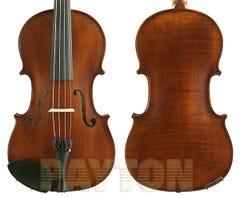 Gliga III viola 15 inch outfit, dark antique