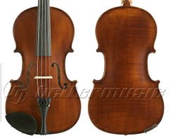 Gliga III viola 16 inch outfit, dark antique