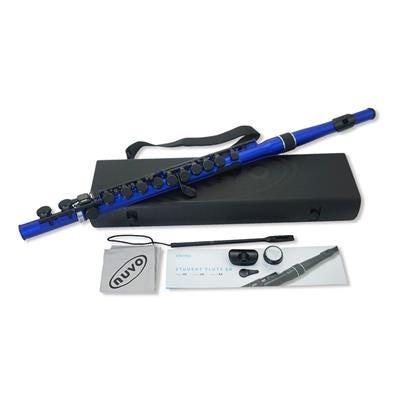 Nuvo Student (Straight Head) Flute 2.0 - Blue/Black
