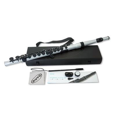 Nuvo Student Flute 2.0 - Silver/Black