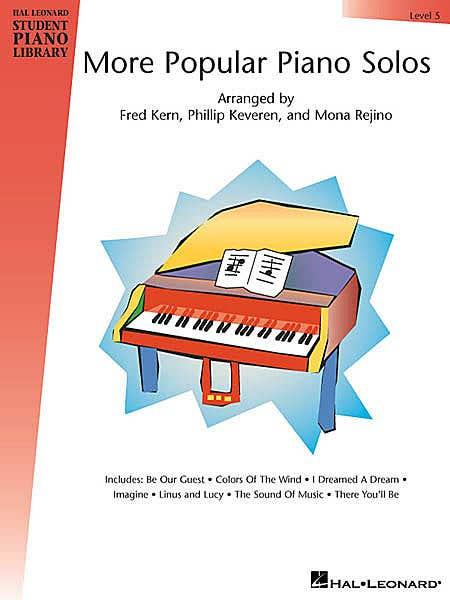 hlspl more popular piano solos lvl 5 /  (HAL LEONARD)