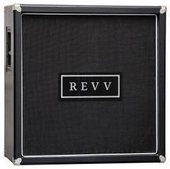 """Revv 4x12"""" Speaker Cab - WGS Explore 65 + ET90 Speakers (X-Pattern)"""