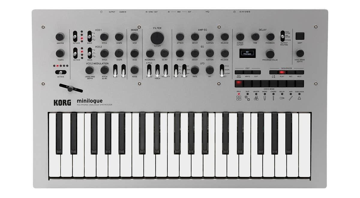 Korg Minilogue Polyphonic Analog Synth