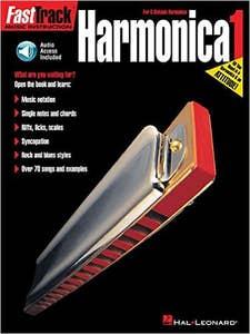 fasttrack harmonica method BK 1 BK/AUDIO ACCESS / NEELY DOWNING (HAL LEONARD)