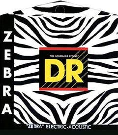 DR Strings 'Zebra' Acoustic/Electric Strings - 12-54