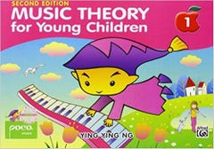 MUSIC THEORY FOR YOUNG CHILDREN BK1 2nd Edition / YING YING NG (POCO)