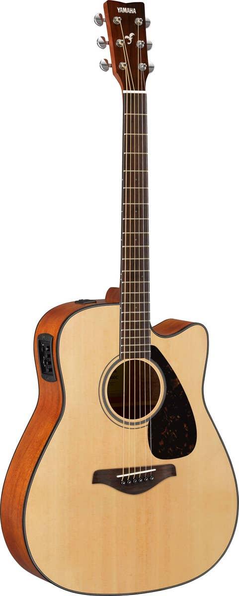 Yamaha FGX800C Acoustic/Electric Guitar - Natural