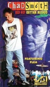 Chad Smith Red Hot Rhythm Method VHS FEATURING FLEA!