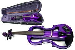 Carlo Giordano Electric Violin 4/4 Purple EV202CPP4/4