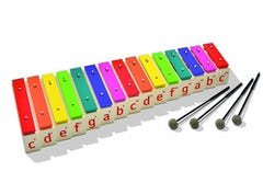 Boomwhackers Chime Bar Set C (03-22000301)
