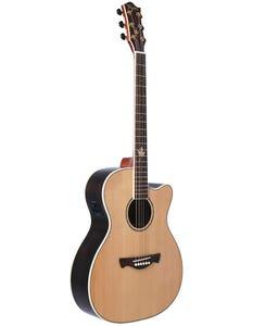 Tagima Guitars MONTREAL Acoustic Electric Guitar - Natural