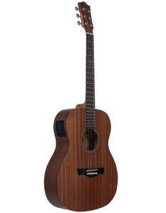 Tagima Guitars MONTANA Mahogany Acoustic Electric Guitar - Natural Mahogany Satin