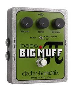 Electro Harmonix Bass Big Muff Pi Distortion/Sustainer