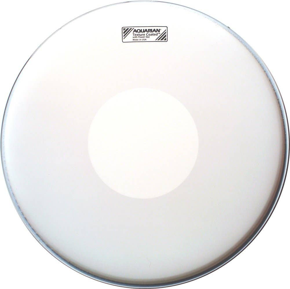 Aquarian 14 Inch Drum Head Coated W/Power Dot Tcpd14 Texture Coated