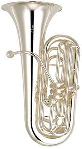 Yamaha YBB621S 3/4 Size Double B Flat Professional Tuba