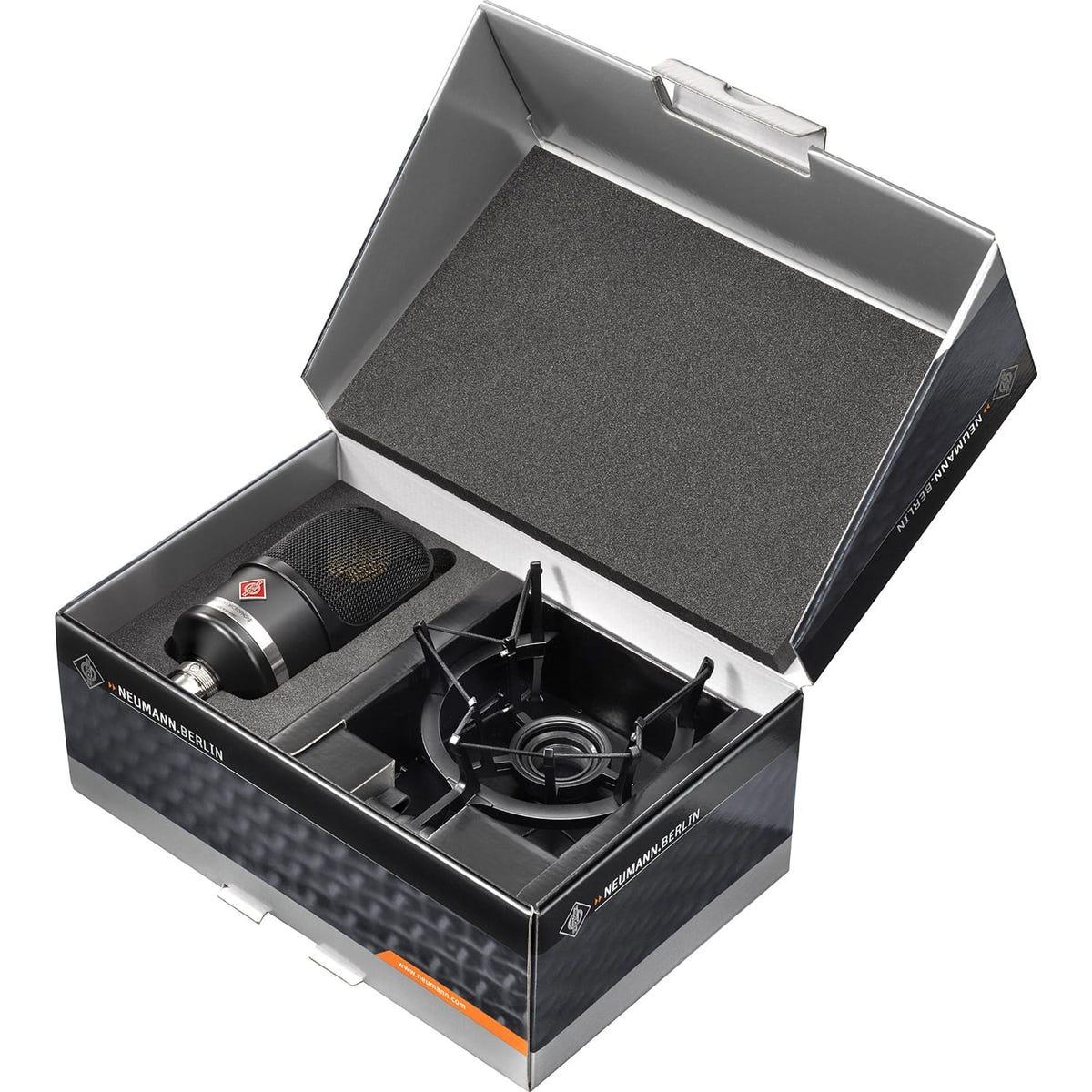 Neumann TLM107 Condenser Microphone Studio Set - Black