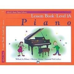 Alfred's Basic Piano Library Lesson Book Level 1A (Alfred)