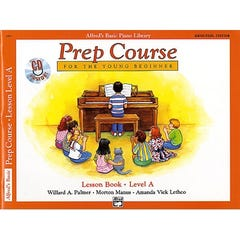 Alfred's Basic Piano Library Prep Course Lesson Level A (Alfred)