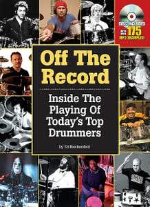 off the record BK/DVD / MODERN DRUMMER (HAL LEONARD)