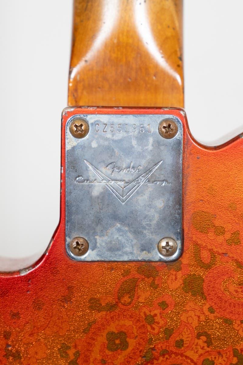 Fender Custom '67 Telecaster Relic w/Case - Tangerine Paisley - One Only (Masterbuilt by Dale Wilson)